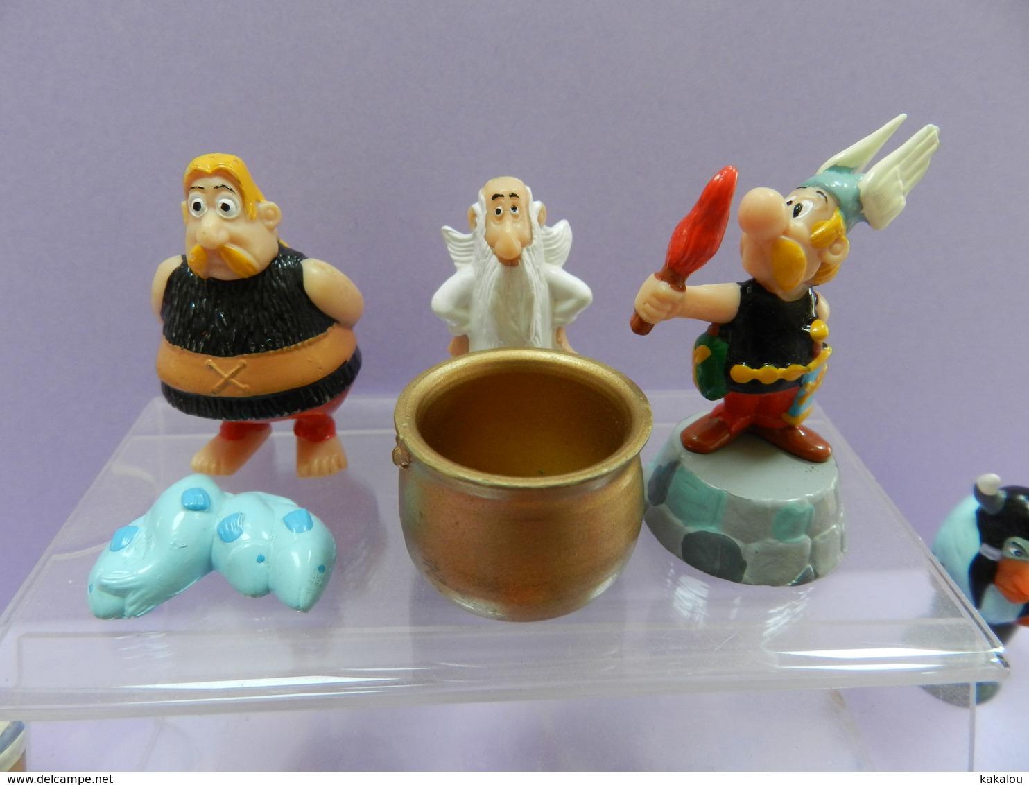 Serie Complete KINDER ASTERIX CHEZ LES INDIENS - Asterix & Obelix