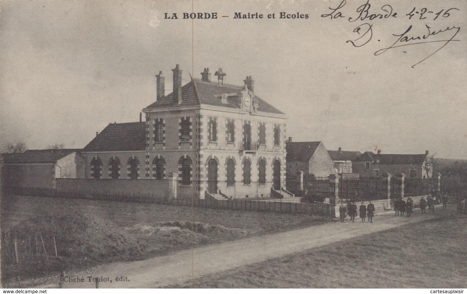 Montesson : La Borde - Mairie Et Ecoles - Montesson
