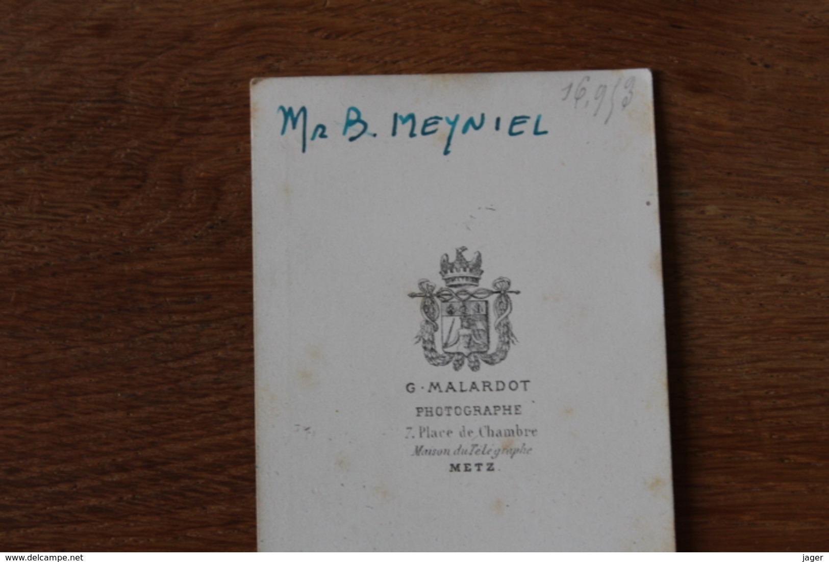 Cdv Second Empire Officier Tenue De Cavalerie  Vers 1865  Identifié - Guerra, Militares