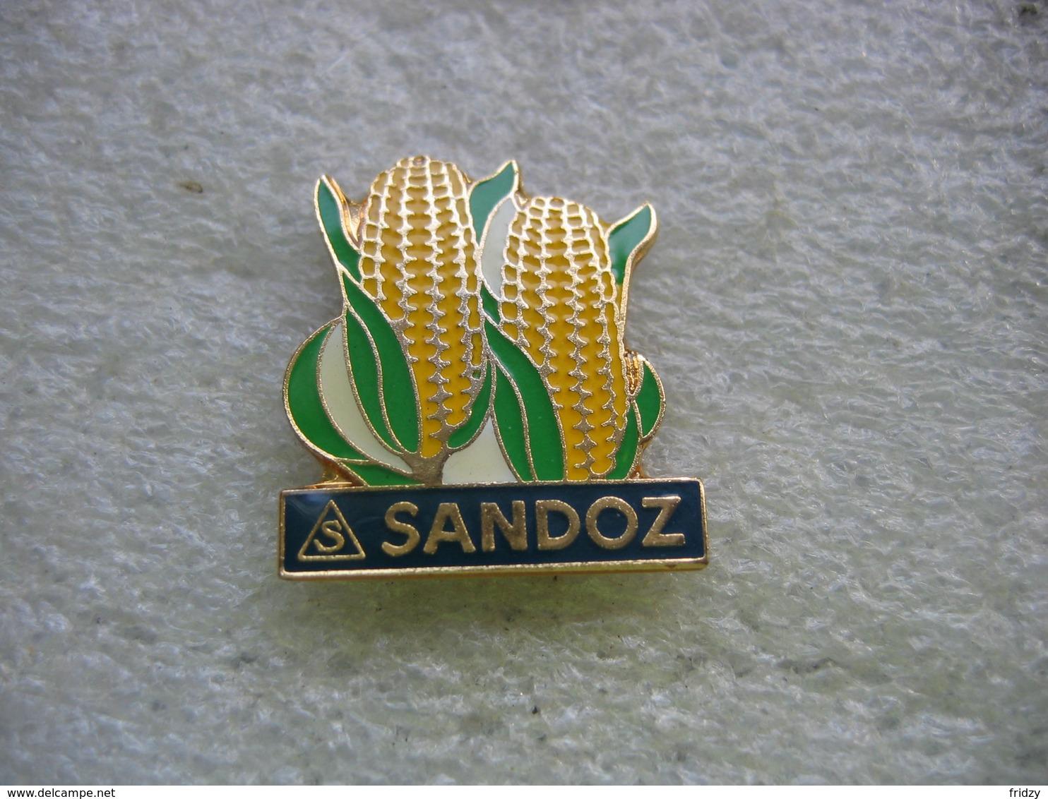 Pin's De La Firme Pharmaceutique Suisse SANDOZ - Badges