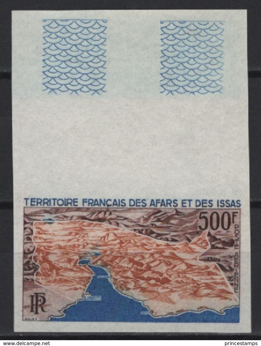 Afars Et Issas (1968)  Yv. Av. 59 /  Cartes - Maps - NON DENTELE - IMPERFORATED - Aardrijkskunde