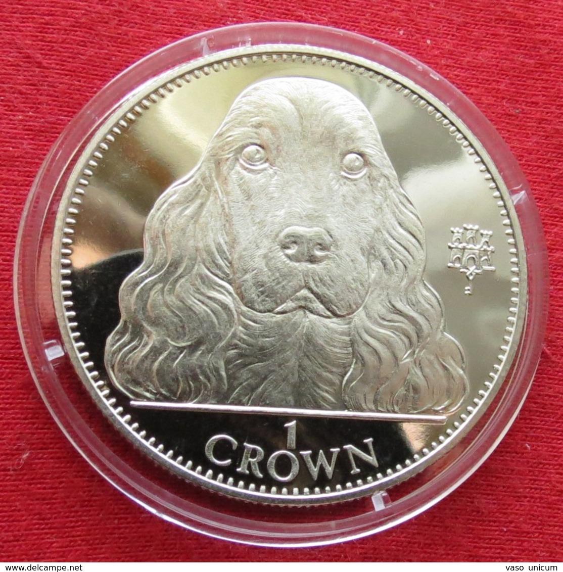 Gibraltar 1 Crown 1992 Cocker Spaniel Dog - Gibraltar