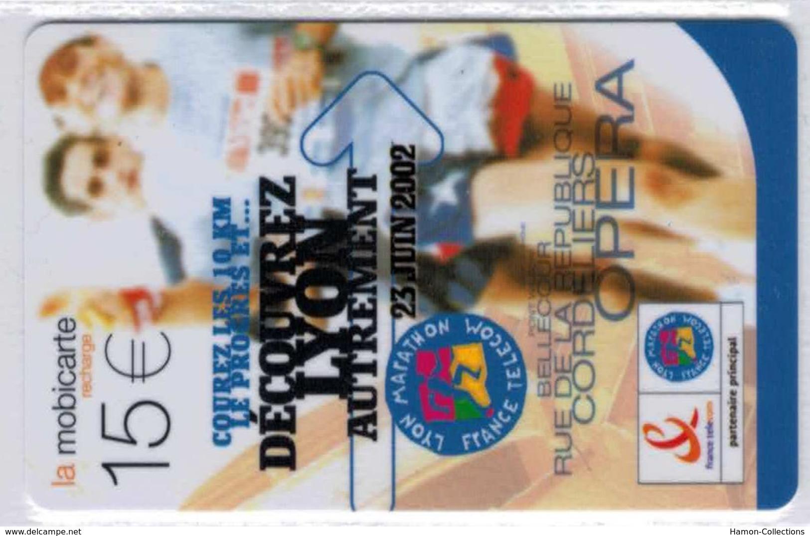 Recharge Mobicarte Marathon De Lyon - Voir Scans - France