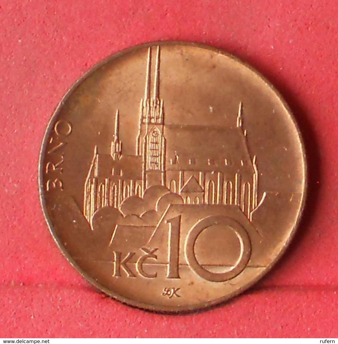 CZECH REPUBLIC 10 KORUM 2016 -    KM# 4 - (Nº28376) - Tschechische Rep.