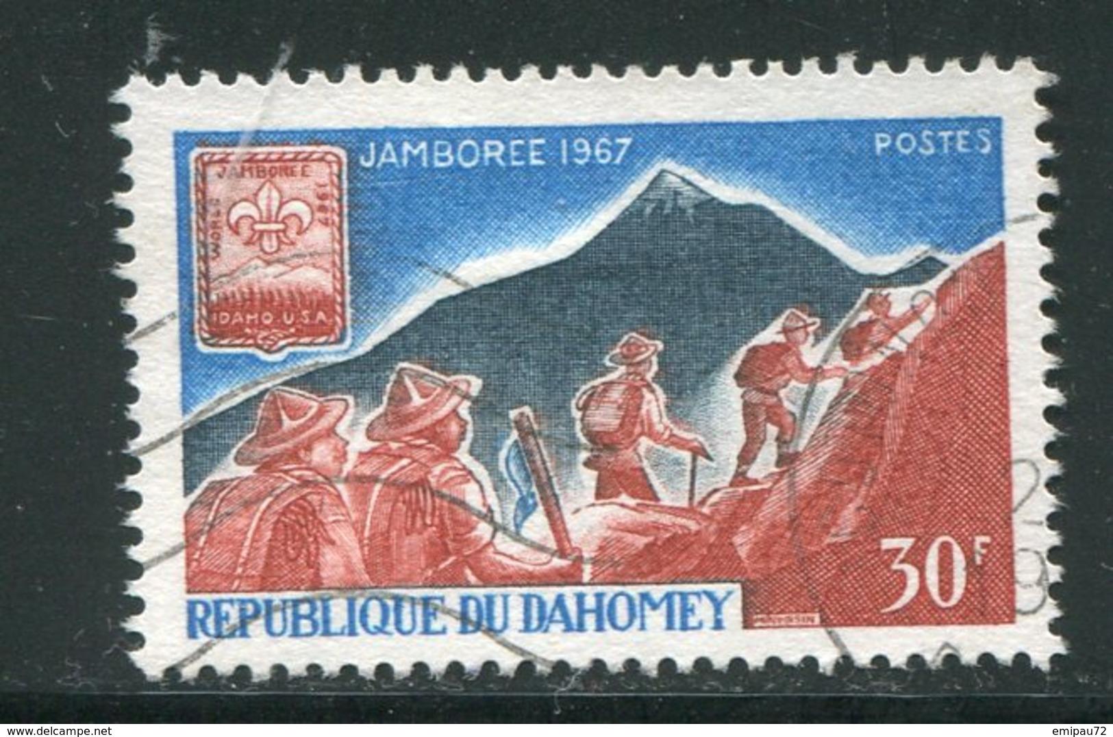 DAHOMEY- Y&T N°259- Oblitéré - Bénin – Dahomey (1960-...)