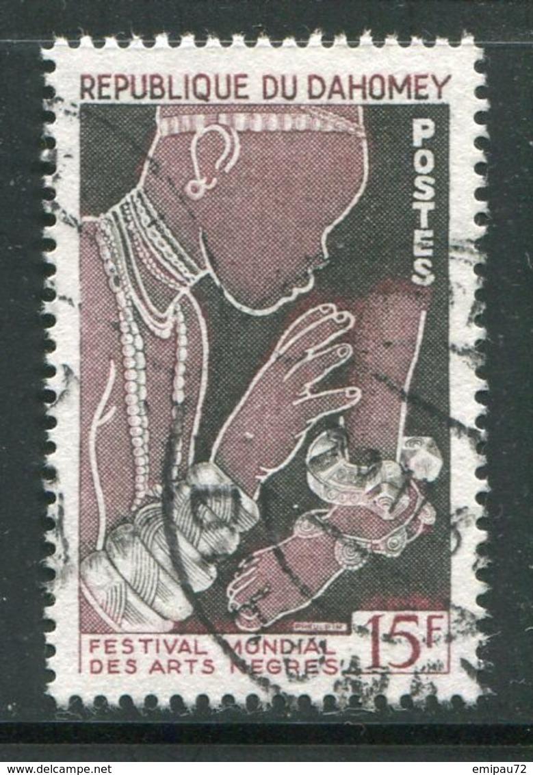 DAHOMEY- Y&T N°235- Oblitéré - Bénin – Dahomey (1960-...)