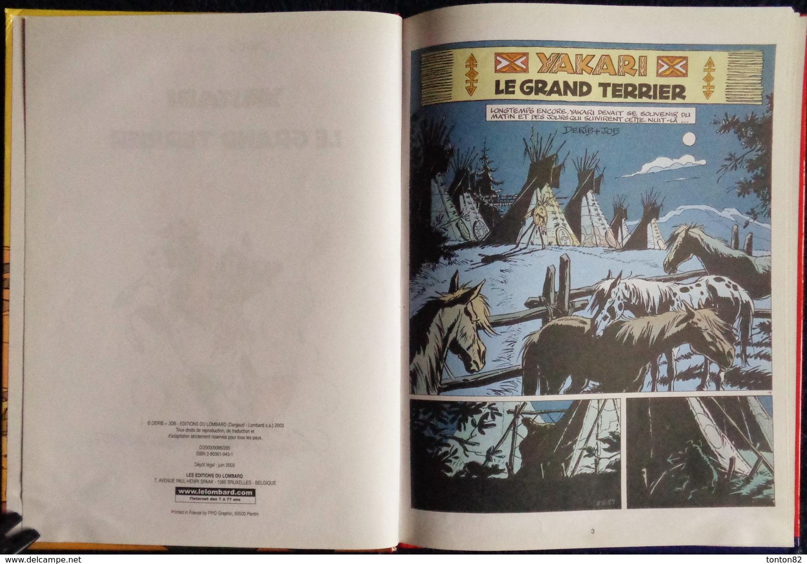 Derib + Job - YAKITORI N° 31 - Yakari Et Les Appalosas - Le Lombard - (  2003 ) . - Yakari