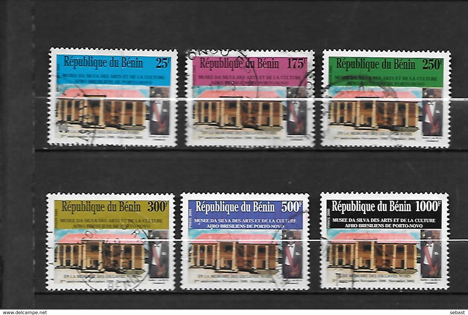TIMBRES OBLITERES DU BENIN   DE 2003 N° MICHEL 1350/55 - Bénin – Dahomey (1960-...)