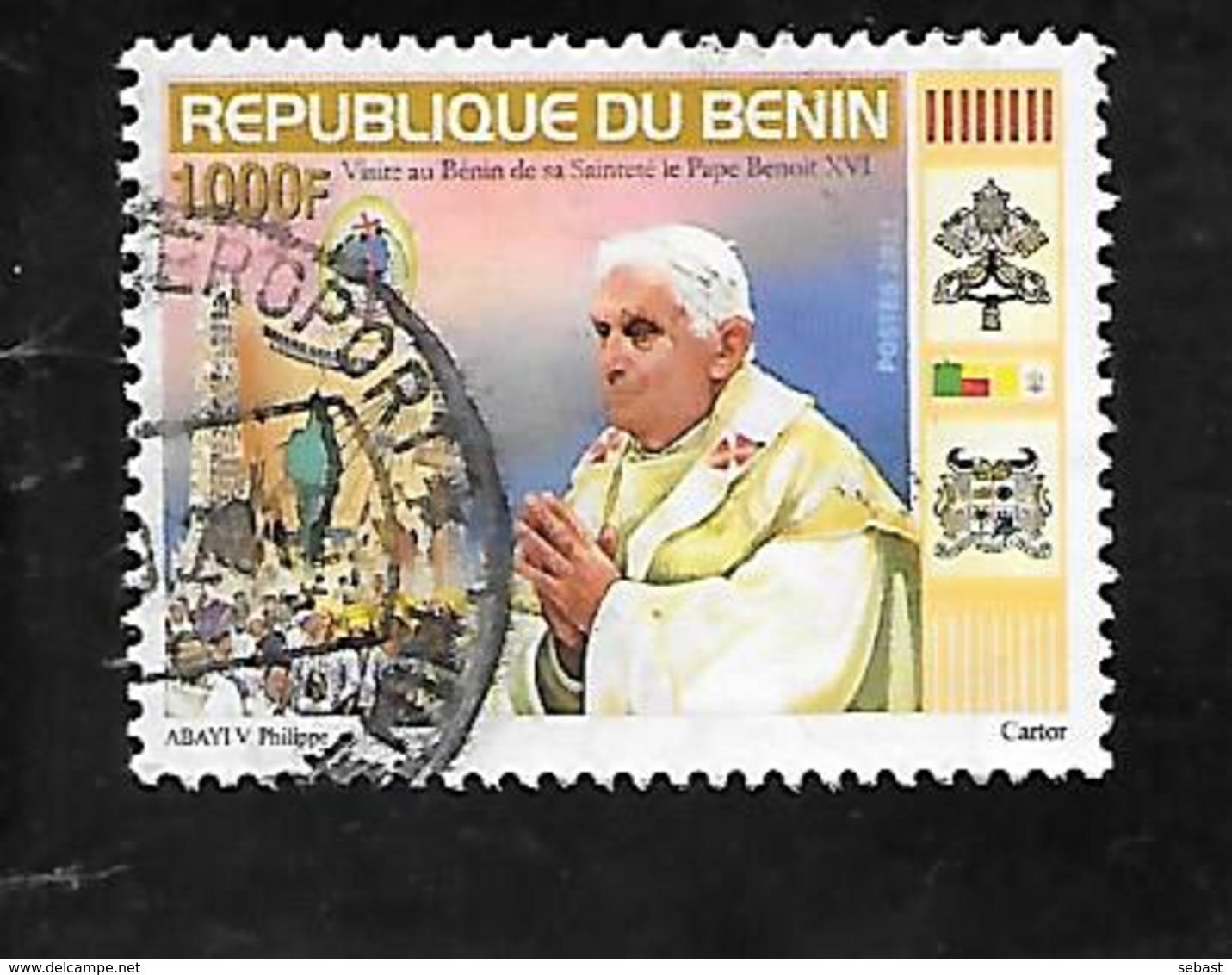 TIMBRE OBLITERE DU BENIN DE 2011 N° MICHEL 1655 - Bénin – Dahomey (1960-...)