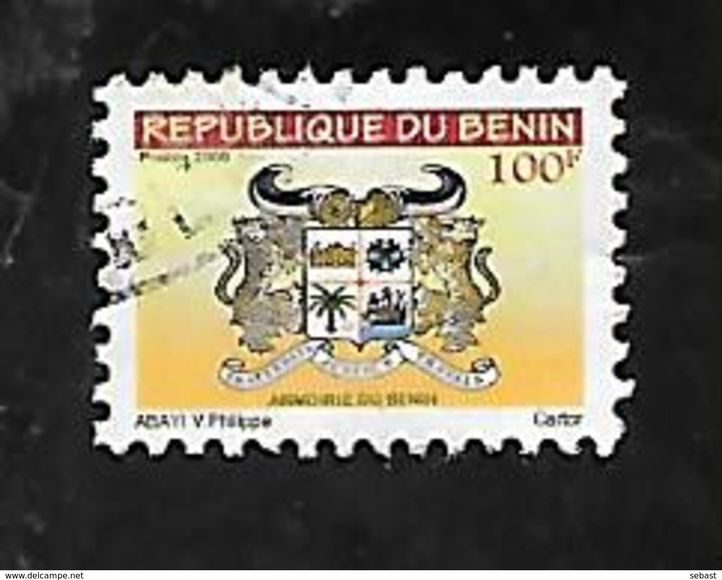 TIMBRE OBLITERE DU BENIN DE 2008 N° MICHEL 1457 - Bénin – Dahomey (1960-...)