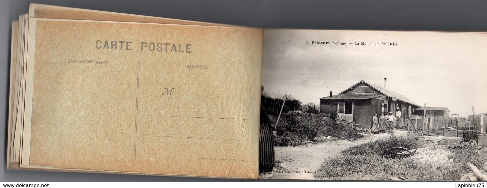 CPA 80 Somme Dévastée Fricourt Maison De Mr Belie - Autres Communes