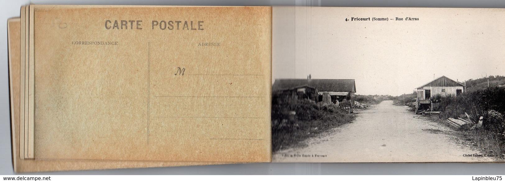 CPA 80 Somme Dévastée Fricourt Rue D'Arras - Autres Communes