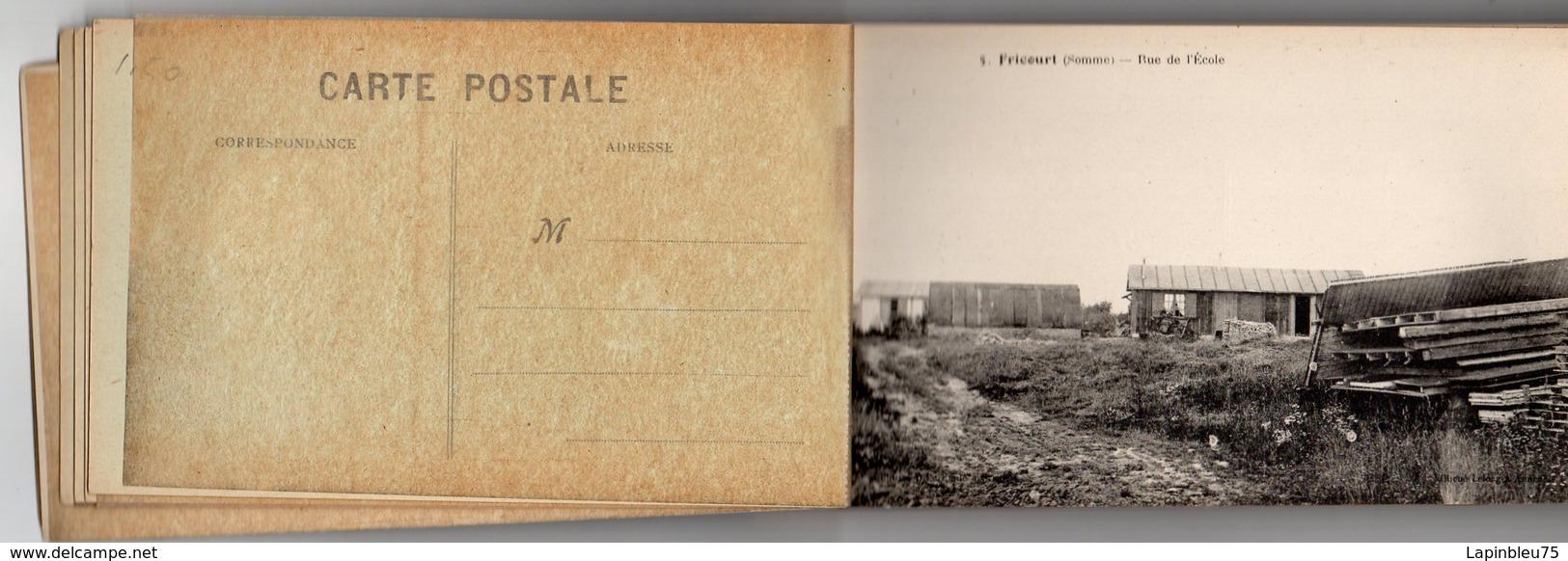 CPA 80 Somme Dévastée Fricourt Rue De L'école - Autres Communes