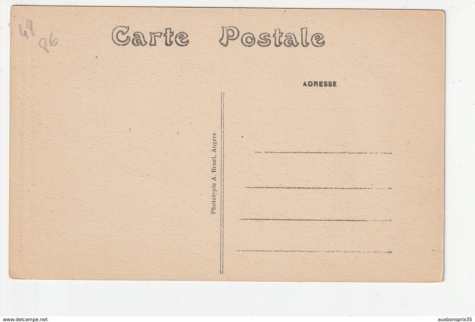 N.D. DE BEHUARD - 24 SEPTEMBRE 1923 - LES FETES DU COURONNEMENT - LA PROCESSION - PRETRES ET CHANOINES ..... - 49 - France