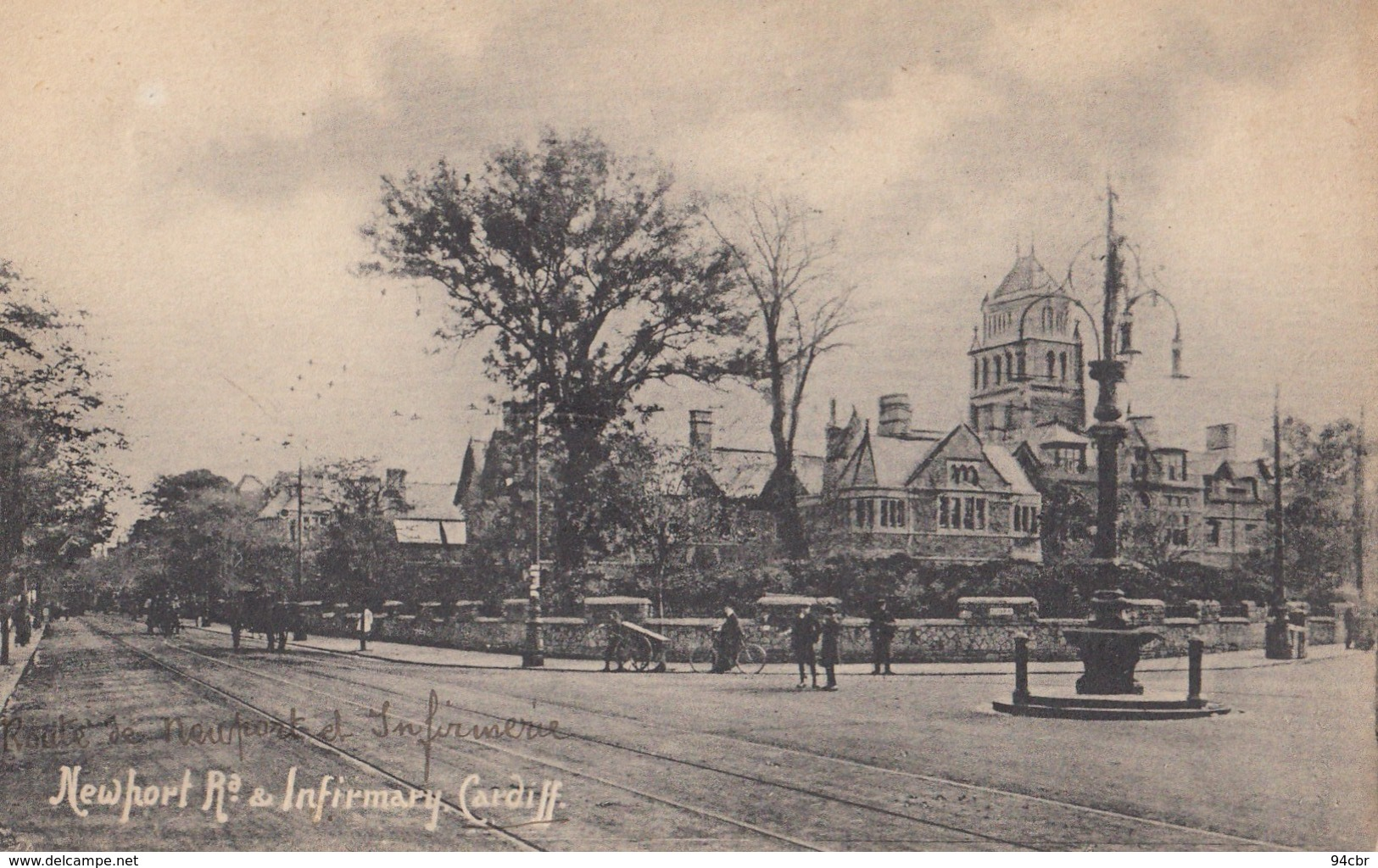 CPA (pays De Galles) CARDIFFnewhort  Ra Infirmary - Autres