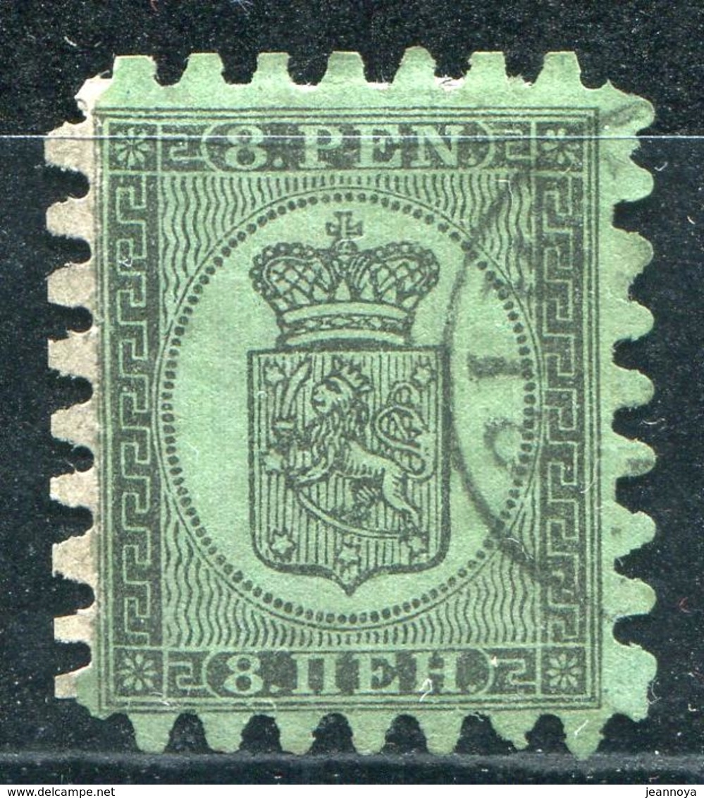 FINLANDE - N° 6 OBL.  - TB - Used Stamps