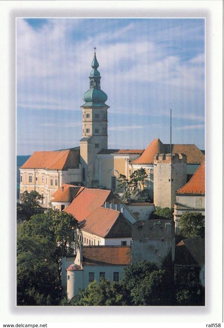 1 AK Tschechien * Das Schloss Mikulov (Nikolsburg) In Der Gleichnamigen Stadt Mikulov Erbaut Von 1719 Bis 1730 - Tschechische Republik