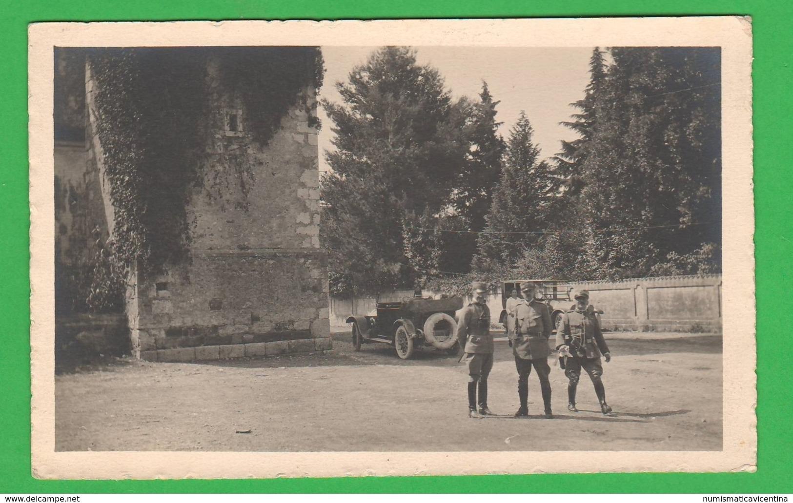 Militari Artiglieria Osservatori 1915 1918 Zona Udine Fotocartolina - Guerra, Militari
