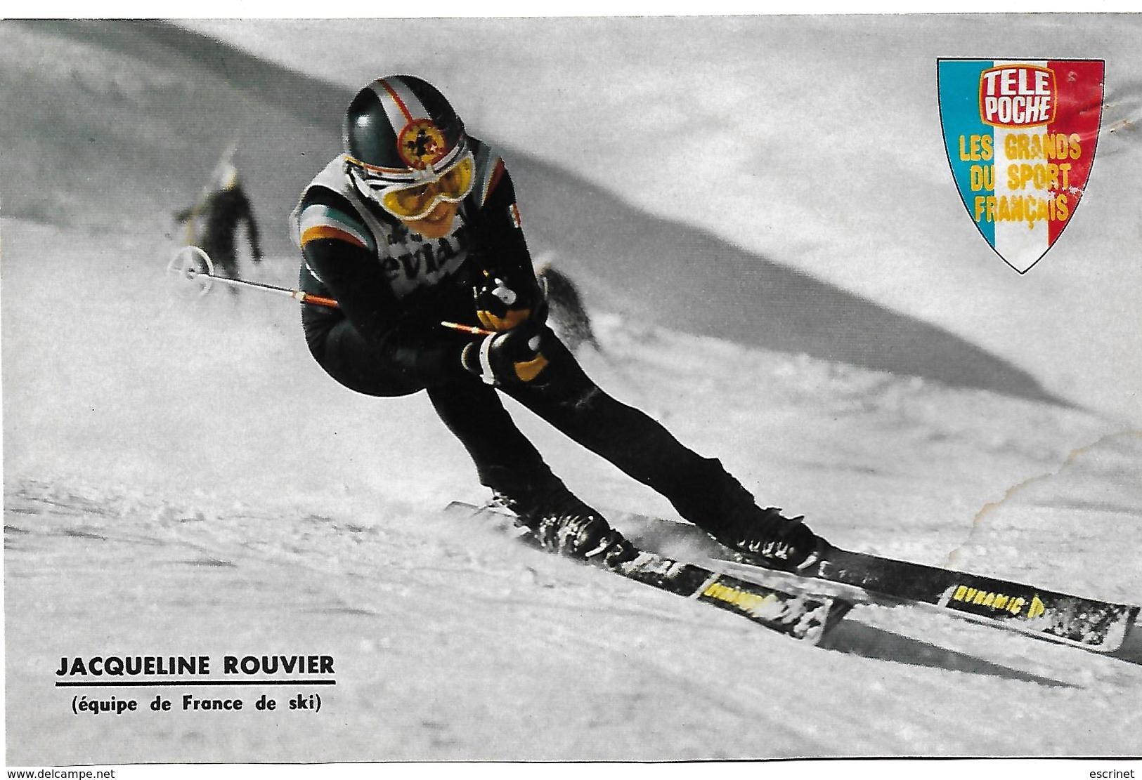 Ski - ROUVIER Jacqueline - Sports D'hiver