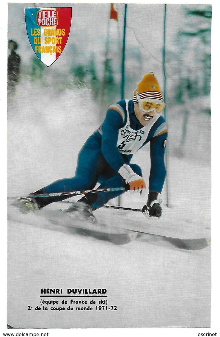 Ski - DUVILLARD Henri - Sport Invernali
