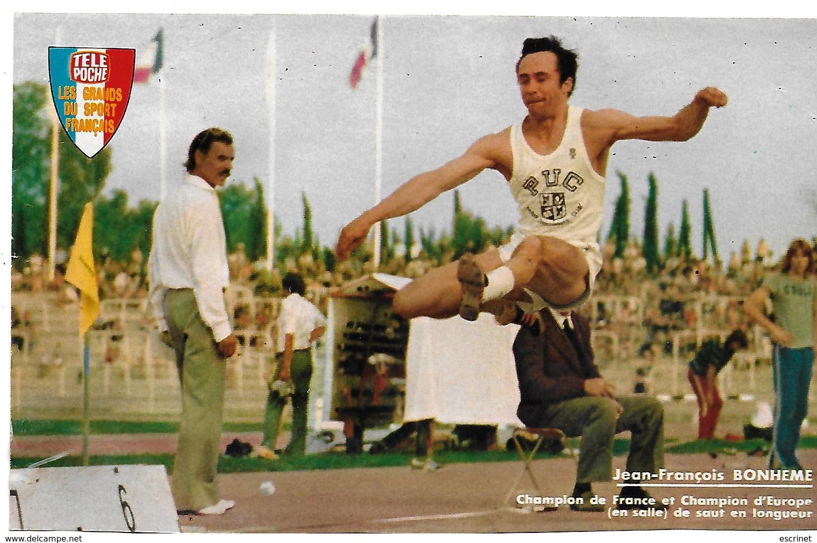 BONHEME Jean-François - Athlétisme