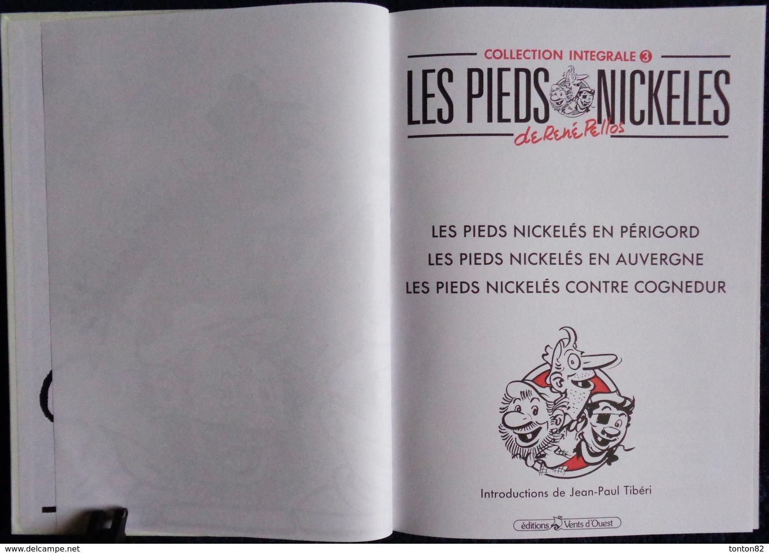 René Pellos - Les Pieds Nickelés - Intégrale Album N° 3 - Éditions Vents D'Ouest - Pieds Nickelés, Les