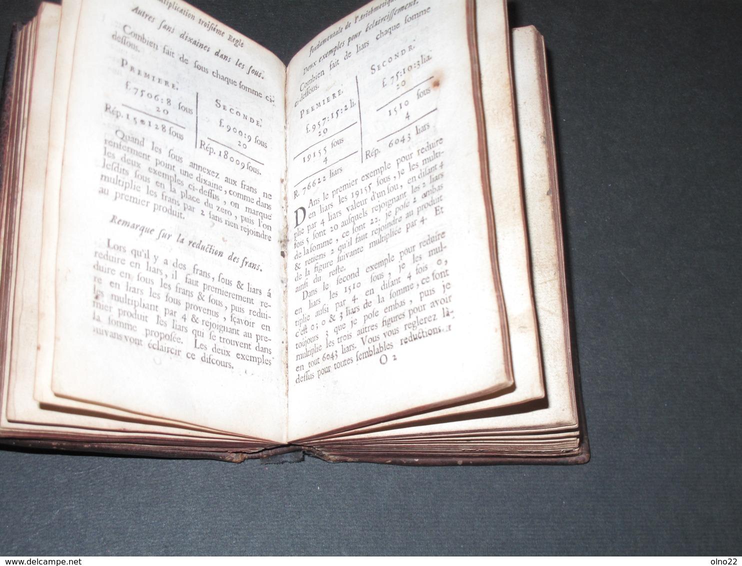 NICOLAS MARTEL - ARITHMETIQUE ET ECLAICISSEMENS TRES AMPLES SURLES REGLES LIEGE 1747 - TOME I Et II - Wissenschaft