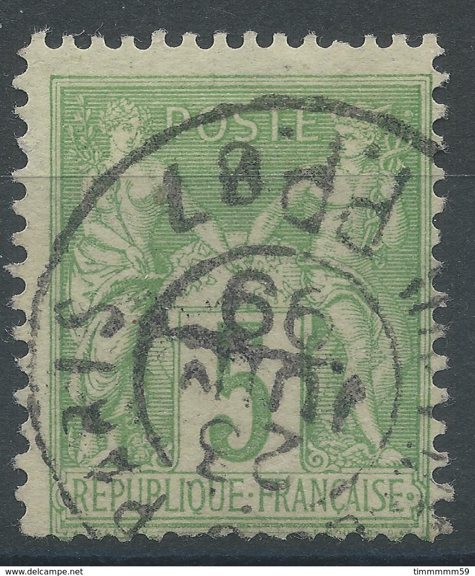 Lot N°48019  N°106, Oblit Cachet à Date De PARIS Des Imprimés PP87 - 1876-1898 Sage (Type II)