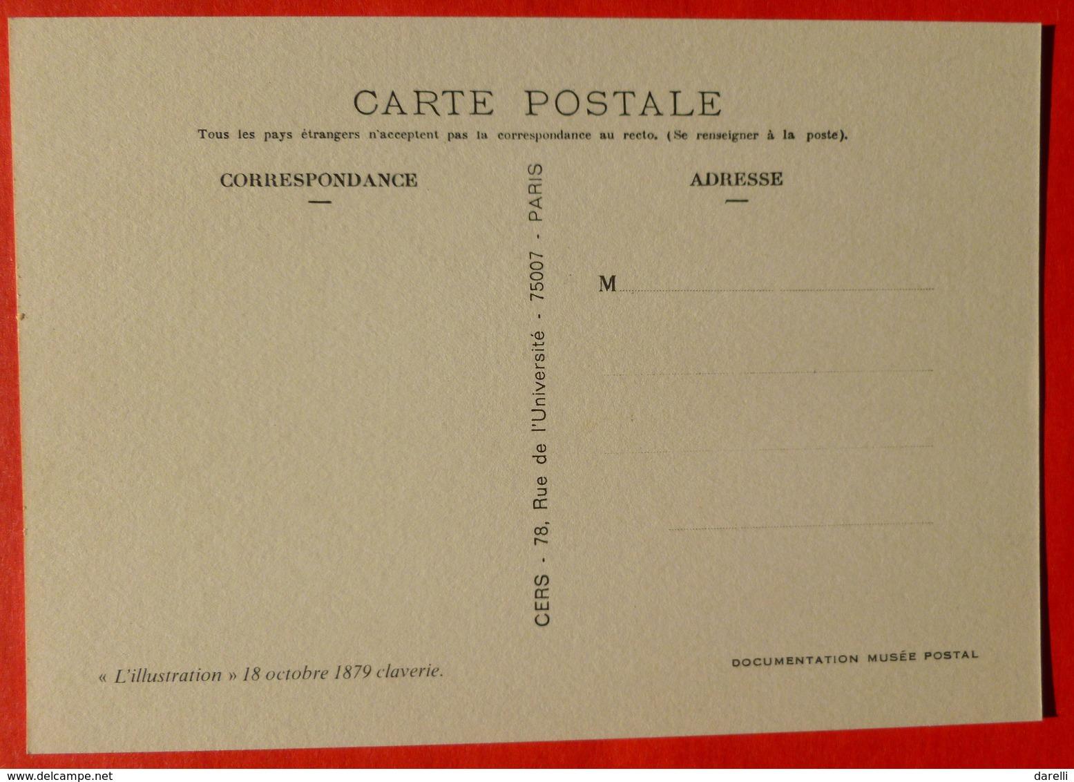 CP - N° 42 - Examen De Fin De Cours Des Aspirantes Service Télégraphique - Musée Postal - Poste & Facteurs