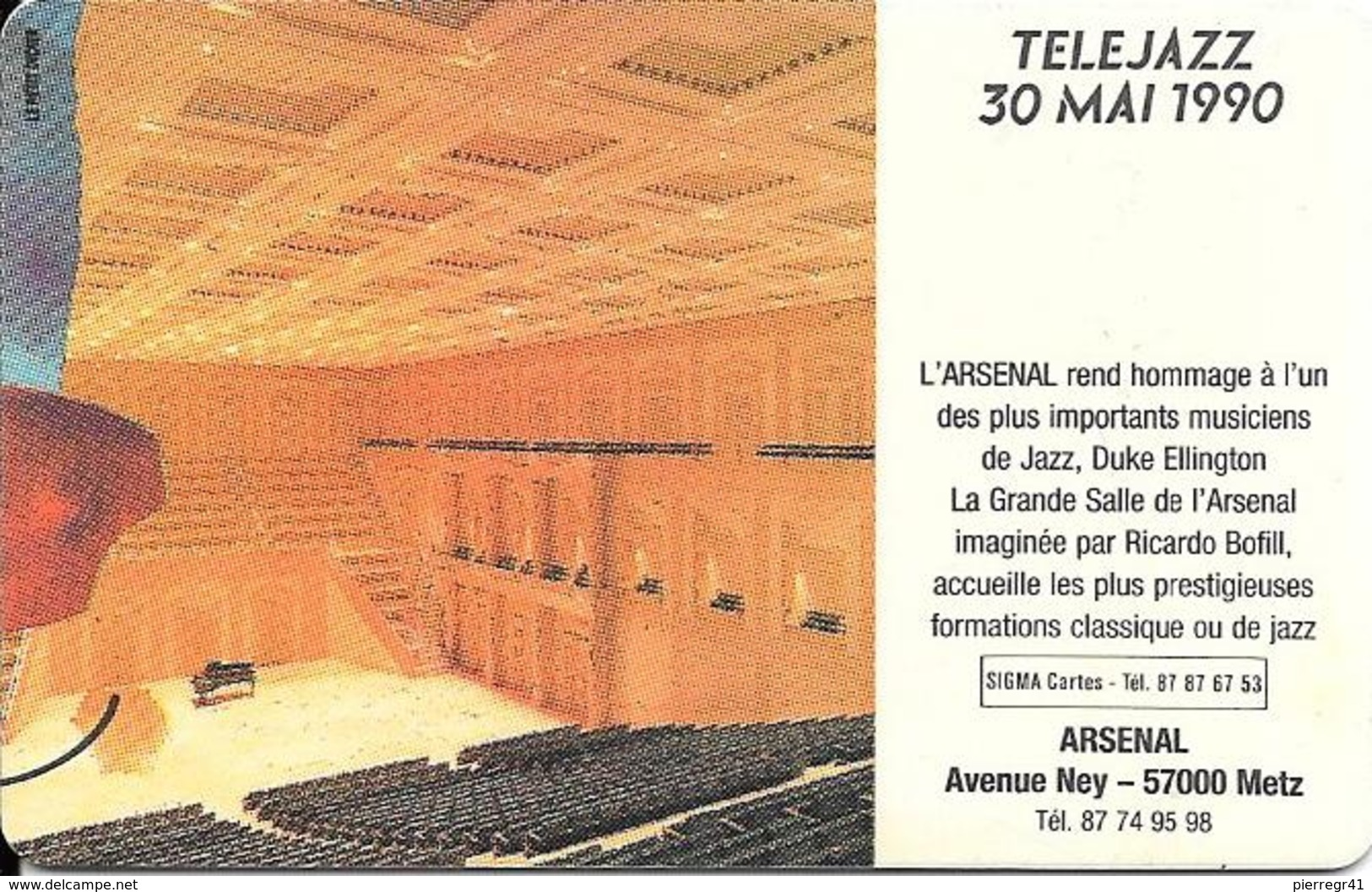 -CARTES-FACTICE-ARSENAL-CARTES TELEPHONES -TBE - France