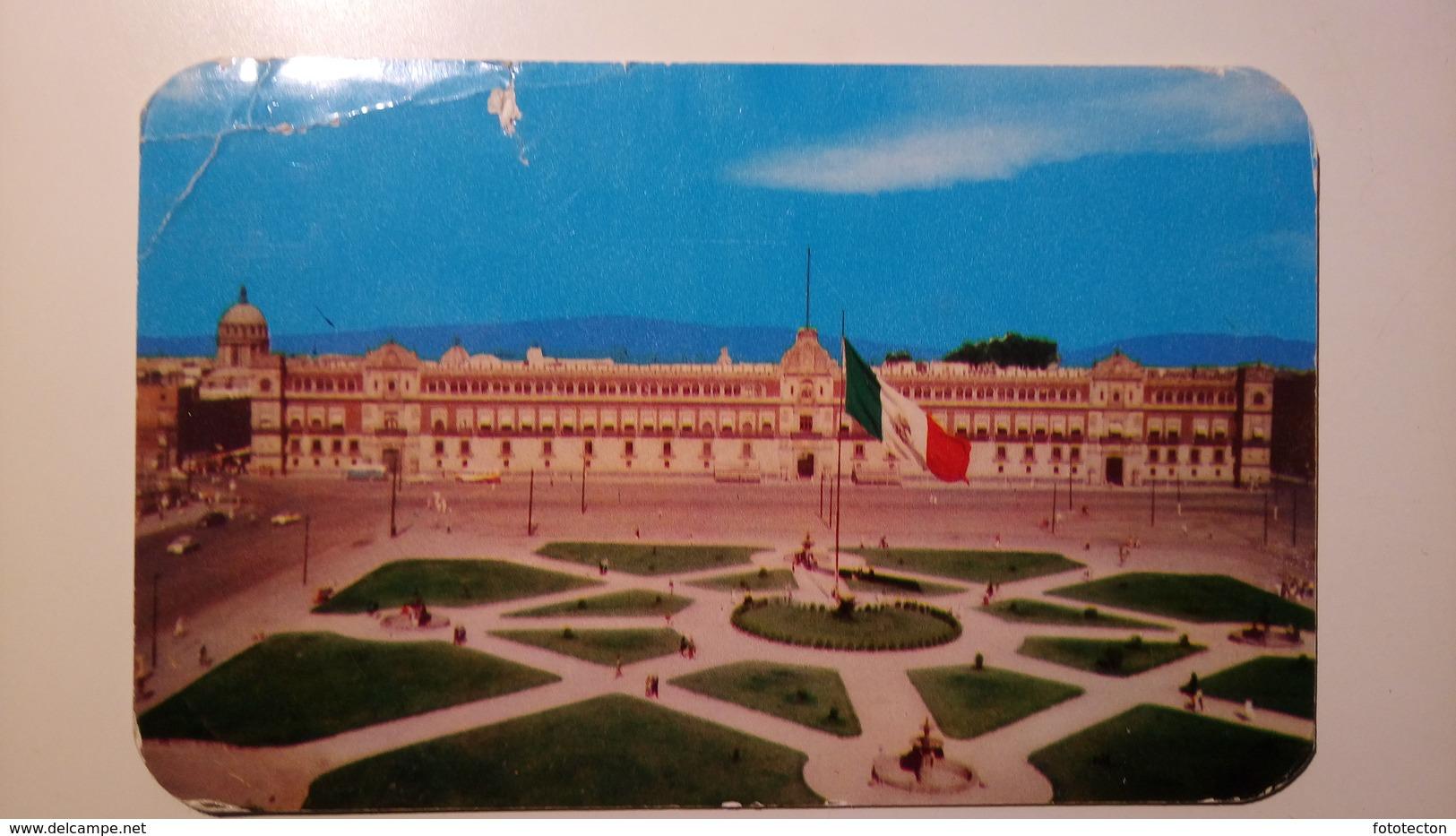 México - Ciudad De Mexico City - Palacio Nacional, Zocalo - Messico