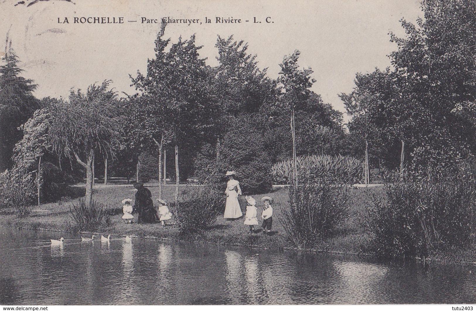 LA ROCHELLE                             Parc Charruyer                La Riviere                Timbree - La Rochelle