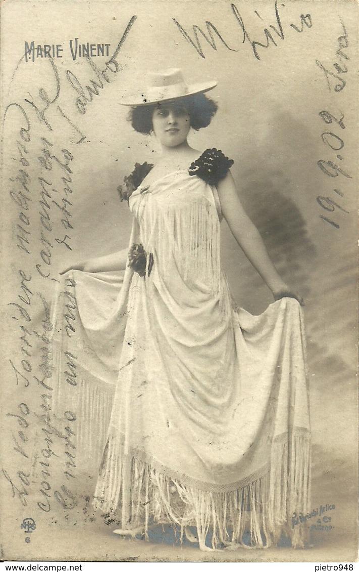 Marie Vinent, Attrice E Ballerina, Actrice Et Danseuse, Actress And Dancer - Dans