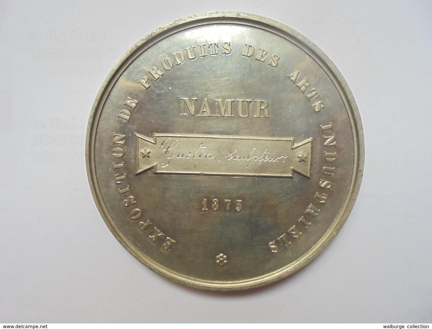 NAMUR-CERCLE ARTISTIQUE ET LITTERAIRE-1873 Par EM.TASSET F. 57 Grammes-60 Mm - Professionals / Firms