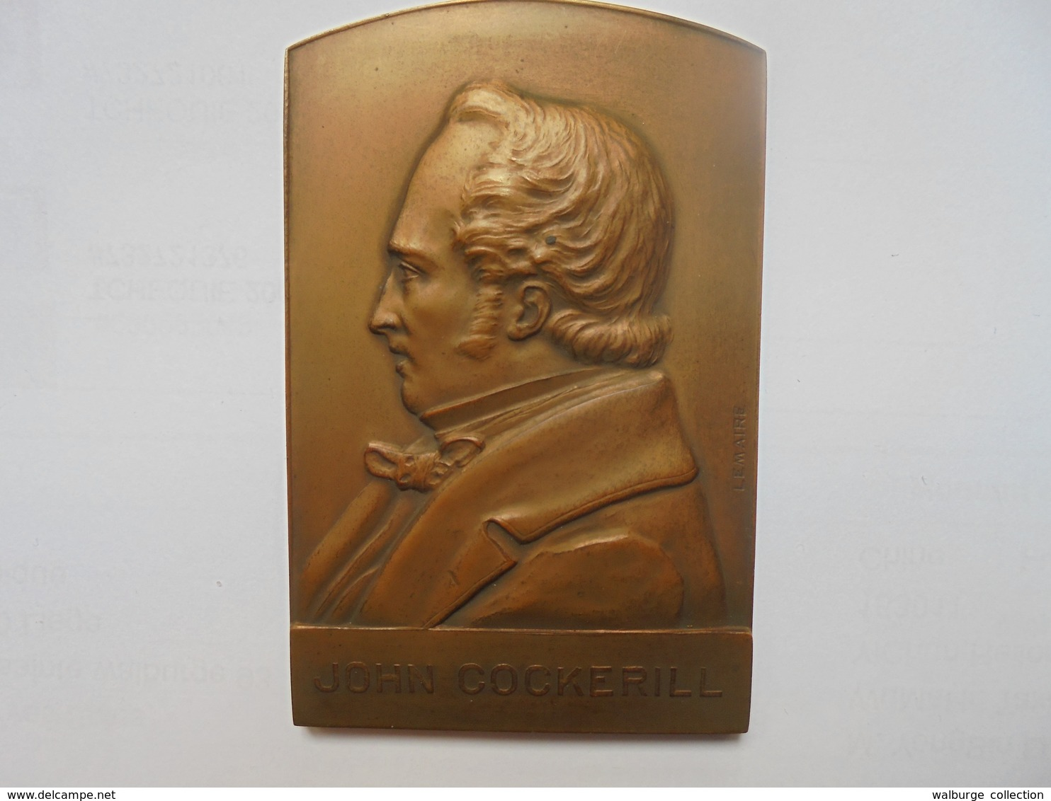 SOCIETE JOHN COCKERILL 1927-122 Par DEVREESE Grammes-80/50 Mm - Professionals / Firms