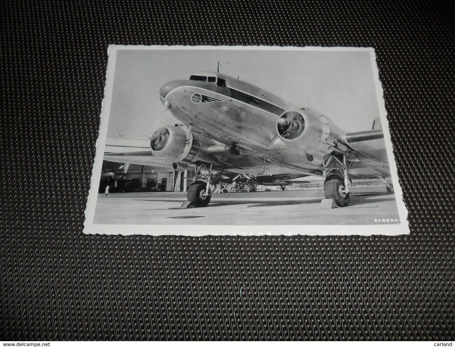 Melsbroek ?  SABENA  Douglas DC - 3   Brussels Airport  Aéroport  Vliegveld - Steenokkerzeel