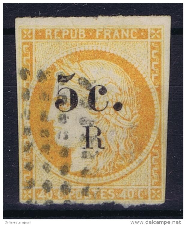 Reunion : Yv Nr 6 Used Obl - Réunion (1852-1975)