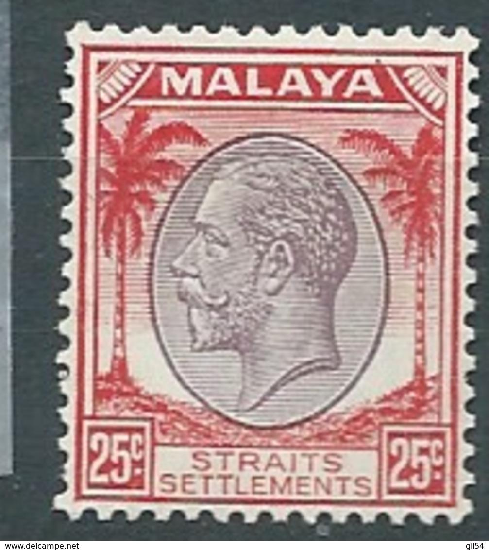 Straits Settlements  - Yvert N° 213 *  -  Bce 17201 - Straits Settlements