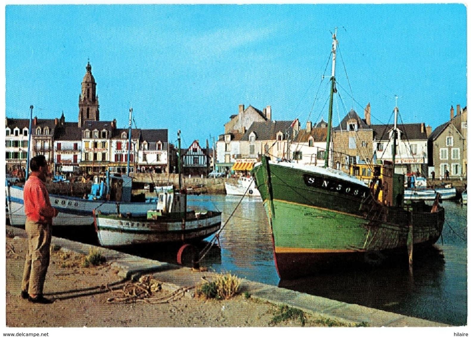 Cpsm 44 LE CROISIC Le Port Image Couleur - Le Croisic