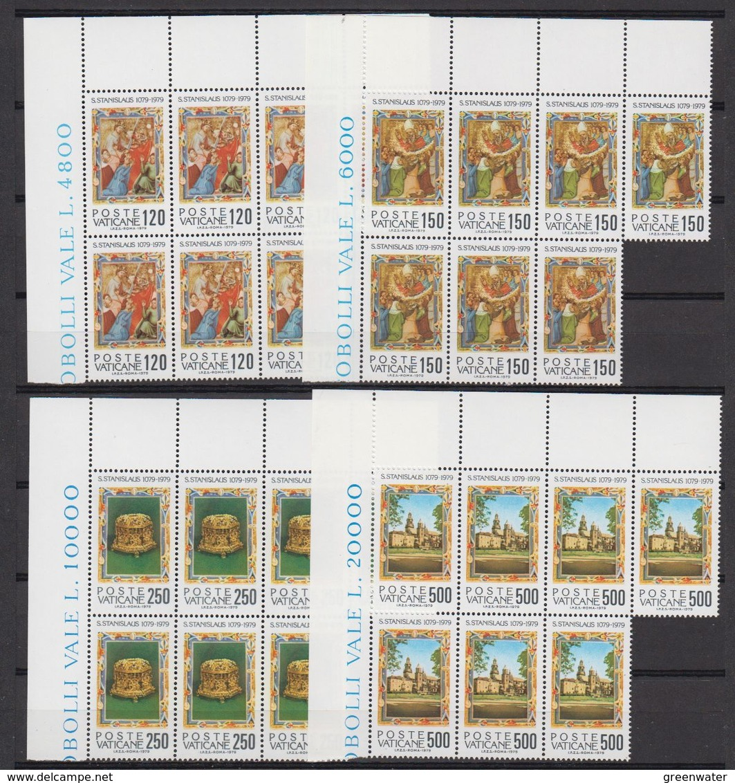 Vatican City 1979 S. Stanislas 4v 7x ** Mnh (42390) - Vaticaanstad