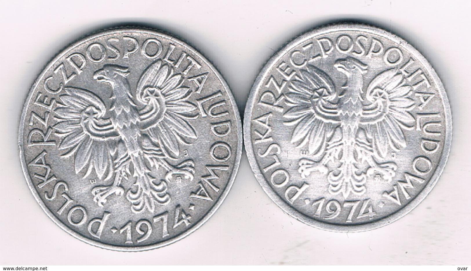 5 + 2 ZLOTYCH 1974  POLEN /3419/ - Poland