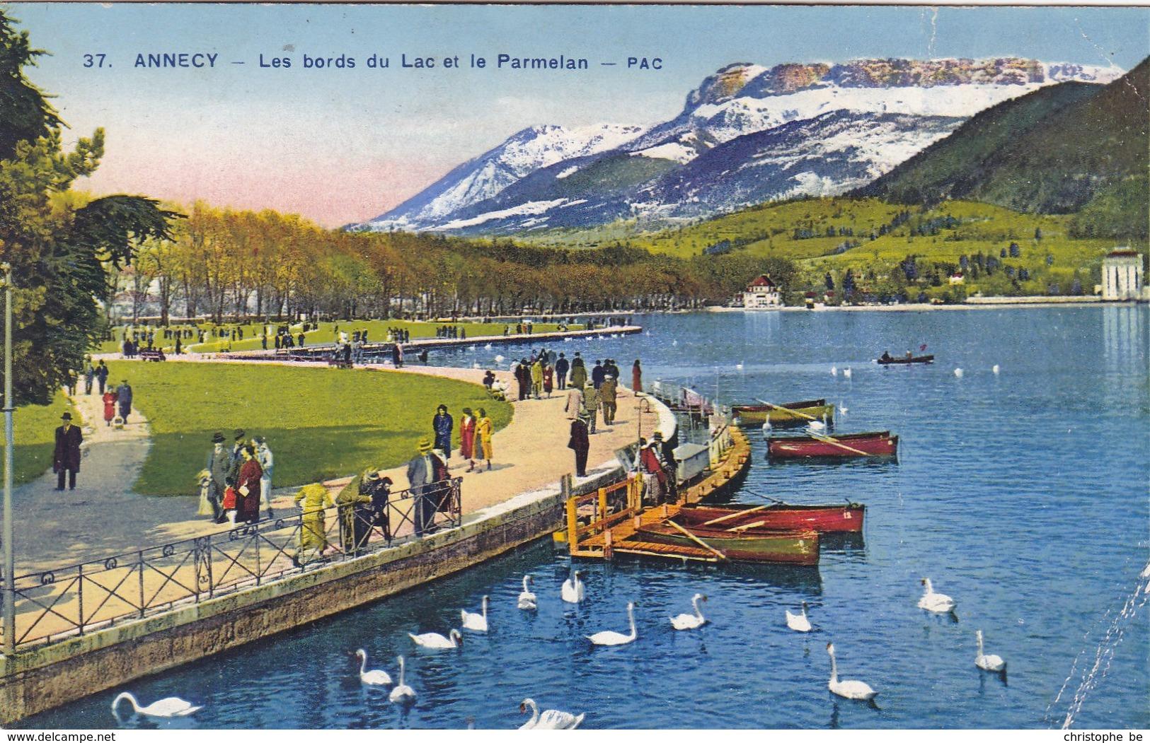 Annecy, Les Bords Du Lac Et Le Parmelan (pk58855) - Annecy
