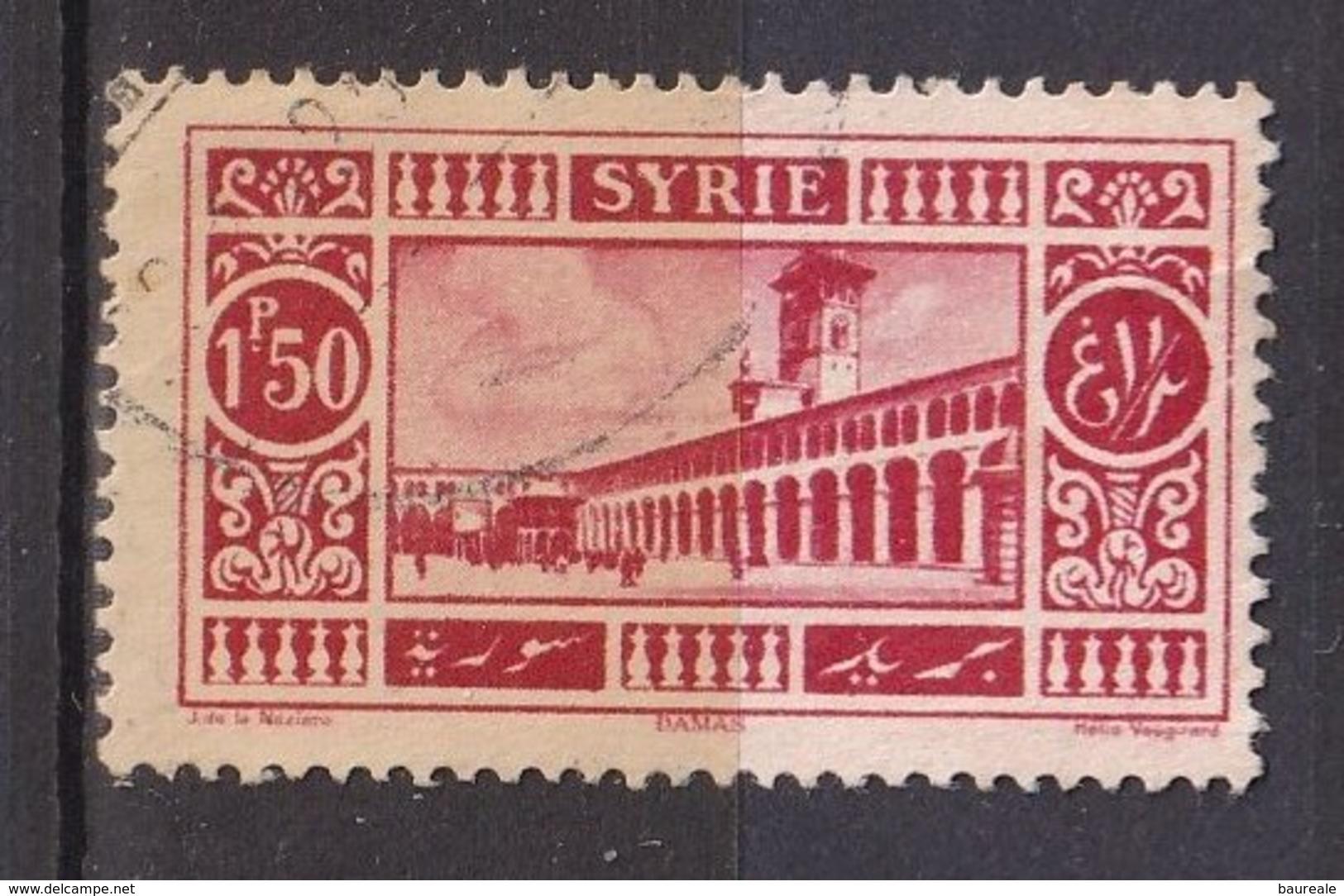 Colonies Françaises - SYRIE -  1925 - Timbre Oblitéré N° YT 160 - Prix Fixe Cote 2017 à 15% - Syrien (1919-1945)