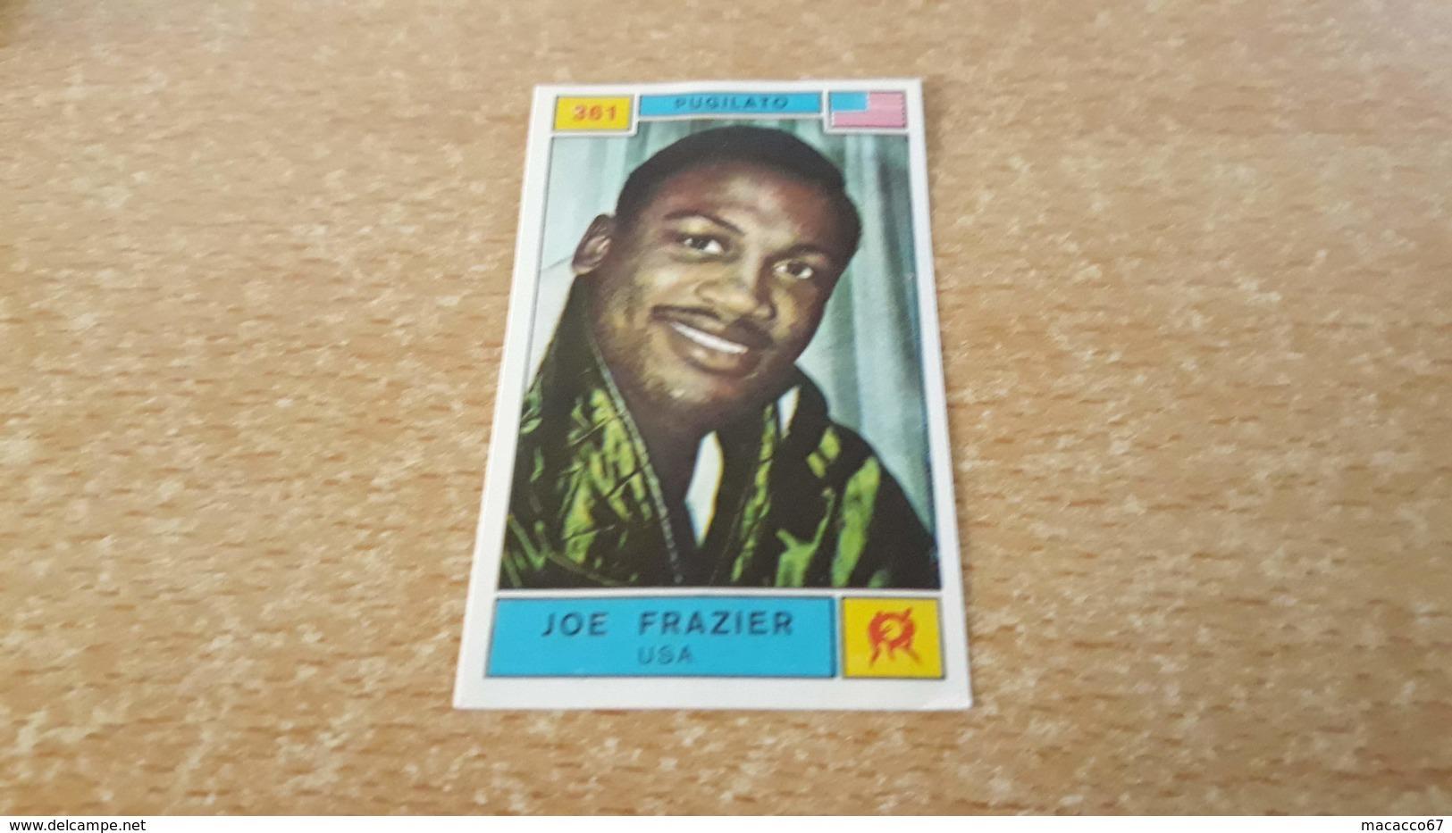 Figurina Panini Campioni Dello Sport 1969 - 361 Joe Frazier - Edizione Italiana