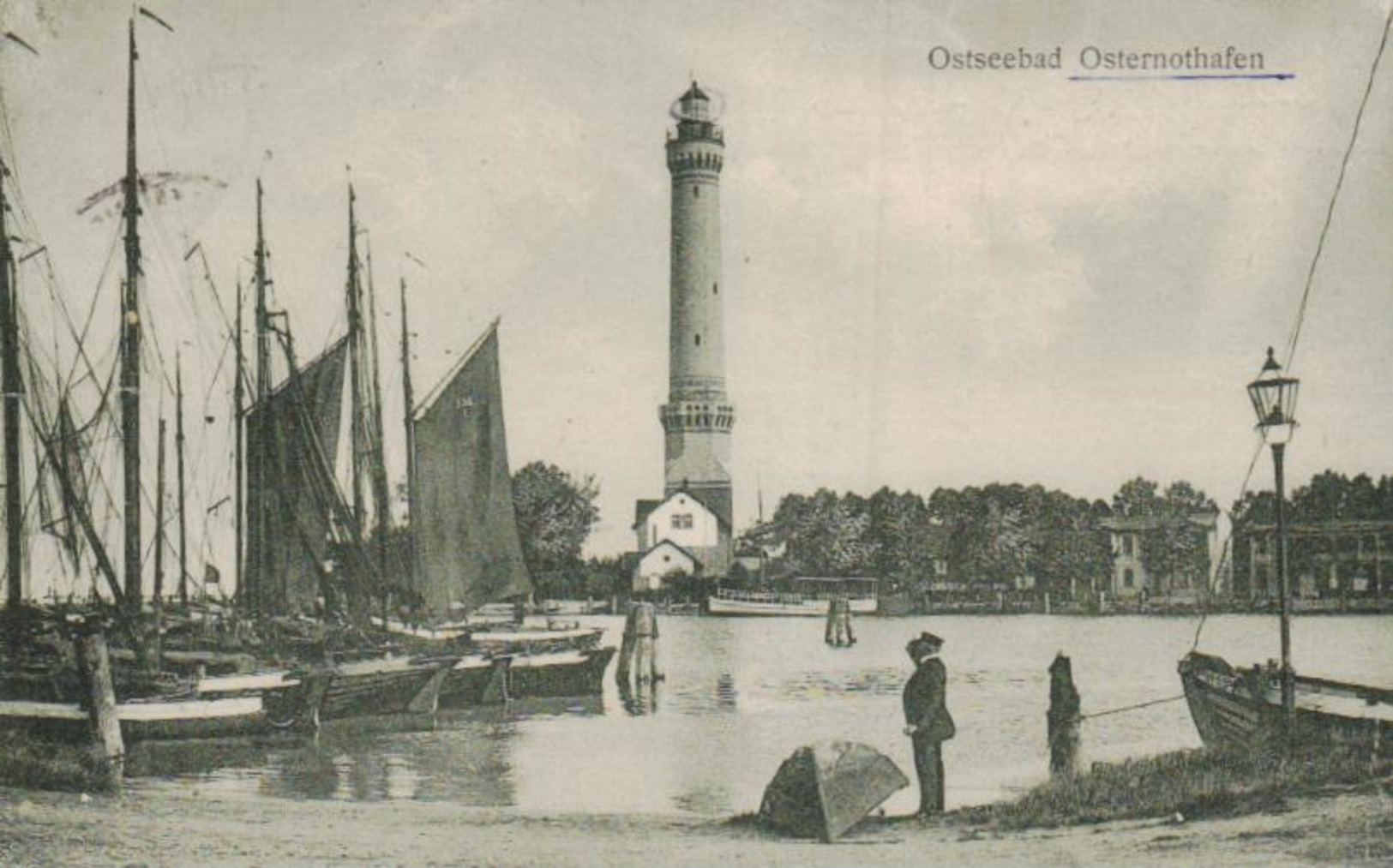 Osternothafen ... - Alte Karte     (ka8841  ) Siehe Scan - Pologne