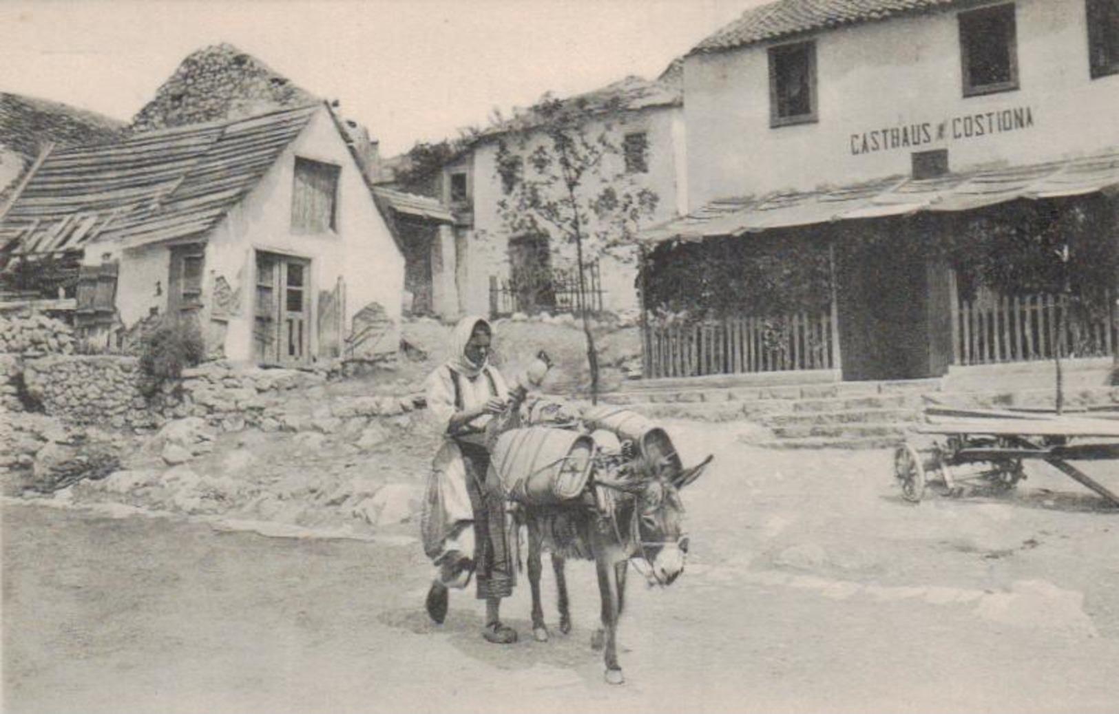 Costiona - Alte Karte  ( Ka8777 ) Siehe Scan - Italie