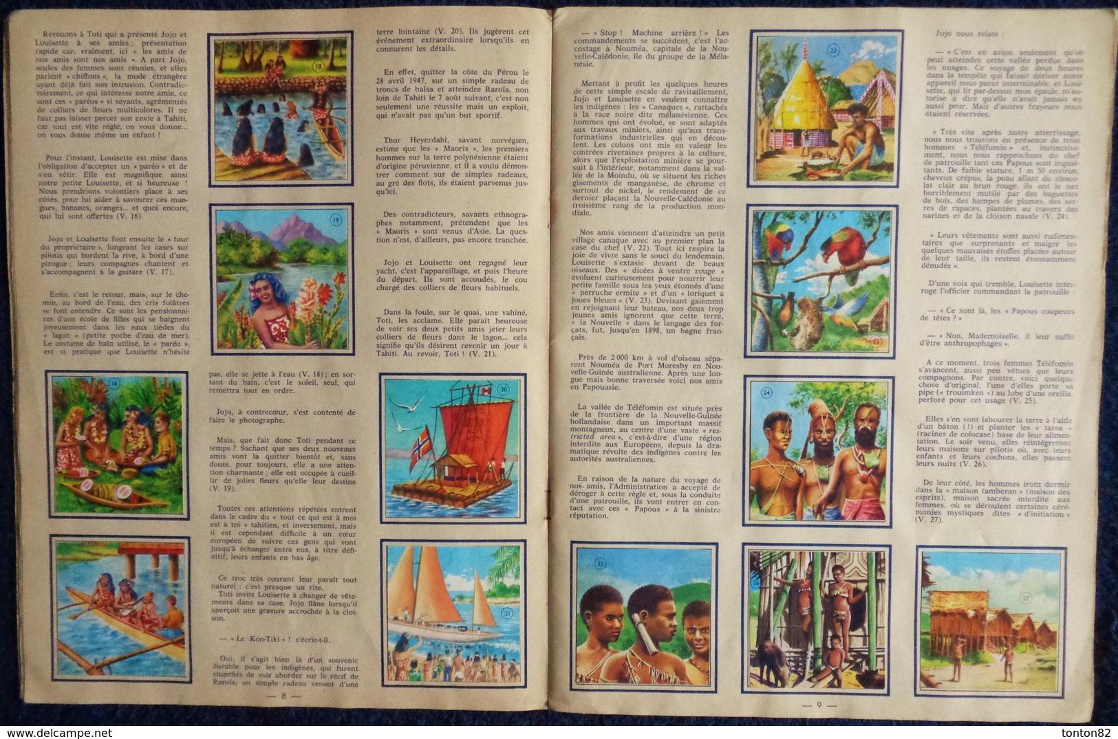 """Album D'Images Chocolat Casino & Scilia - Voyage Autour Du Monde """" OCÉANIE """"  - Album Complet 250 Images - ( 1938 ) .. - Bücher, Zeitschriften, Comics"""