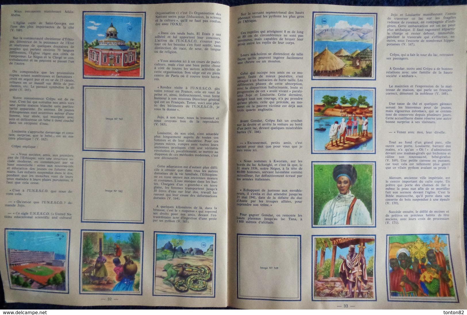 """Album D'Images Chocolat Casino & Scilia - Voyage Autour Du Monde """" OCÉANIE """"  - Album Incomplet  . - Bücher, Zeitschriften, Comics"""
