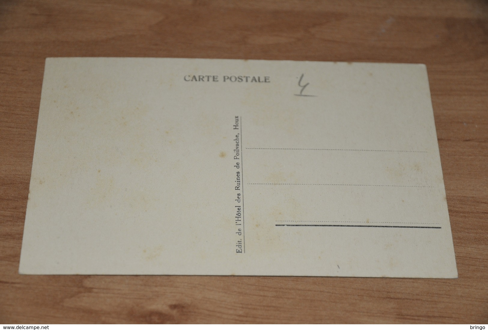 8937-    HOUX S/MEUSE, RUINES DE POILVACHE - Dinant