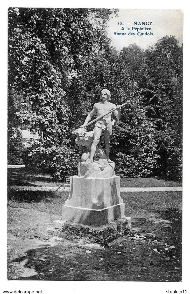 Nancy (Meurthe-et-Moselle)  A La Pépinière, Statue Des Gaulois - Nancy